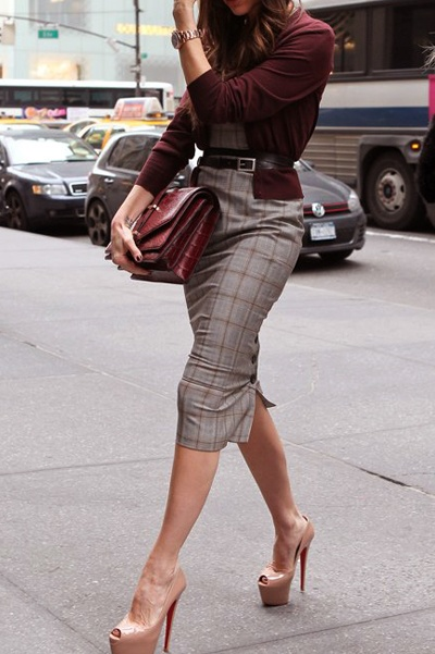 the pencil skirt who said pencils were meant for the