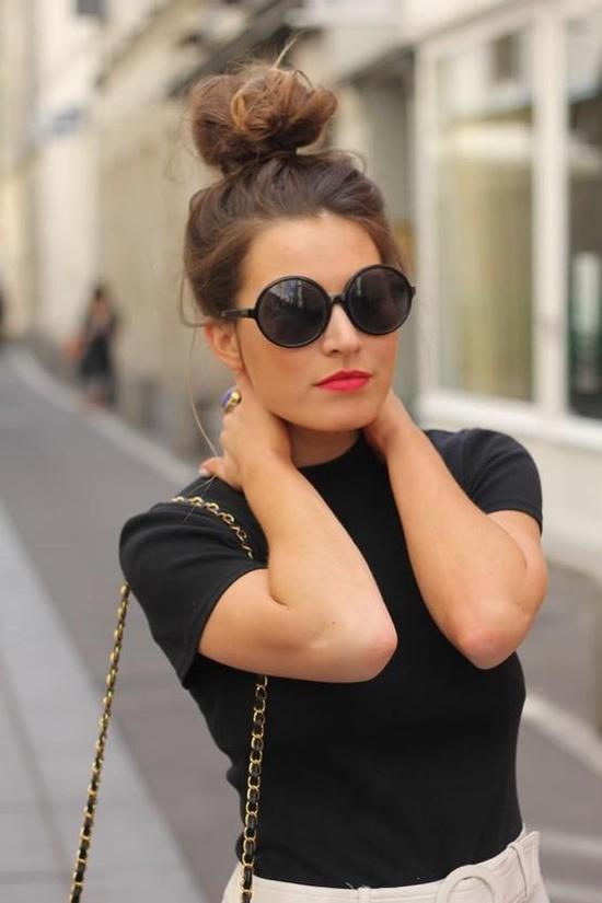 Sensational Hair Fun With A Bun Strutting In Style Nancy Mangano39S Fashion Hairstyles For Men Maxibearus