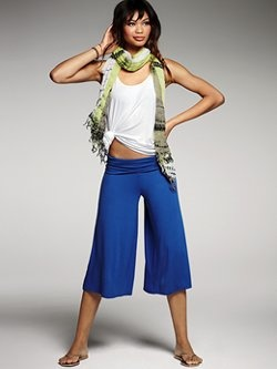 Go For Glamour Gold in Gaucho Pants!   STRUTTING IN STYLE! NANCY ...