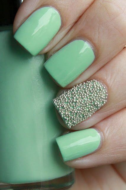 Serene Green is the New Pink Nail Polish! | STRUTTING IN STYLE ...