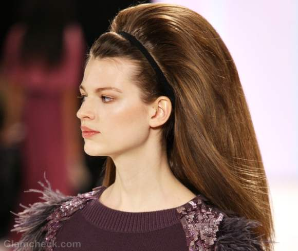 ... Bouffant or Call it the Beehive – The Bouffant Headband Hairstyle