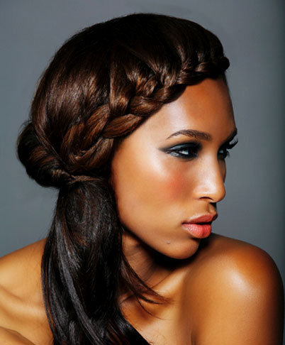 ultra short hairstyles : French Braids Hairstyles Sassy with a french braid!