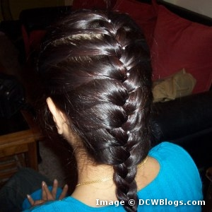 Hair Made Classy And Sassy With A French Braid Strutting In Style