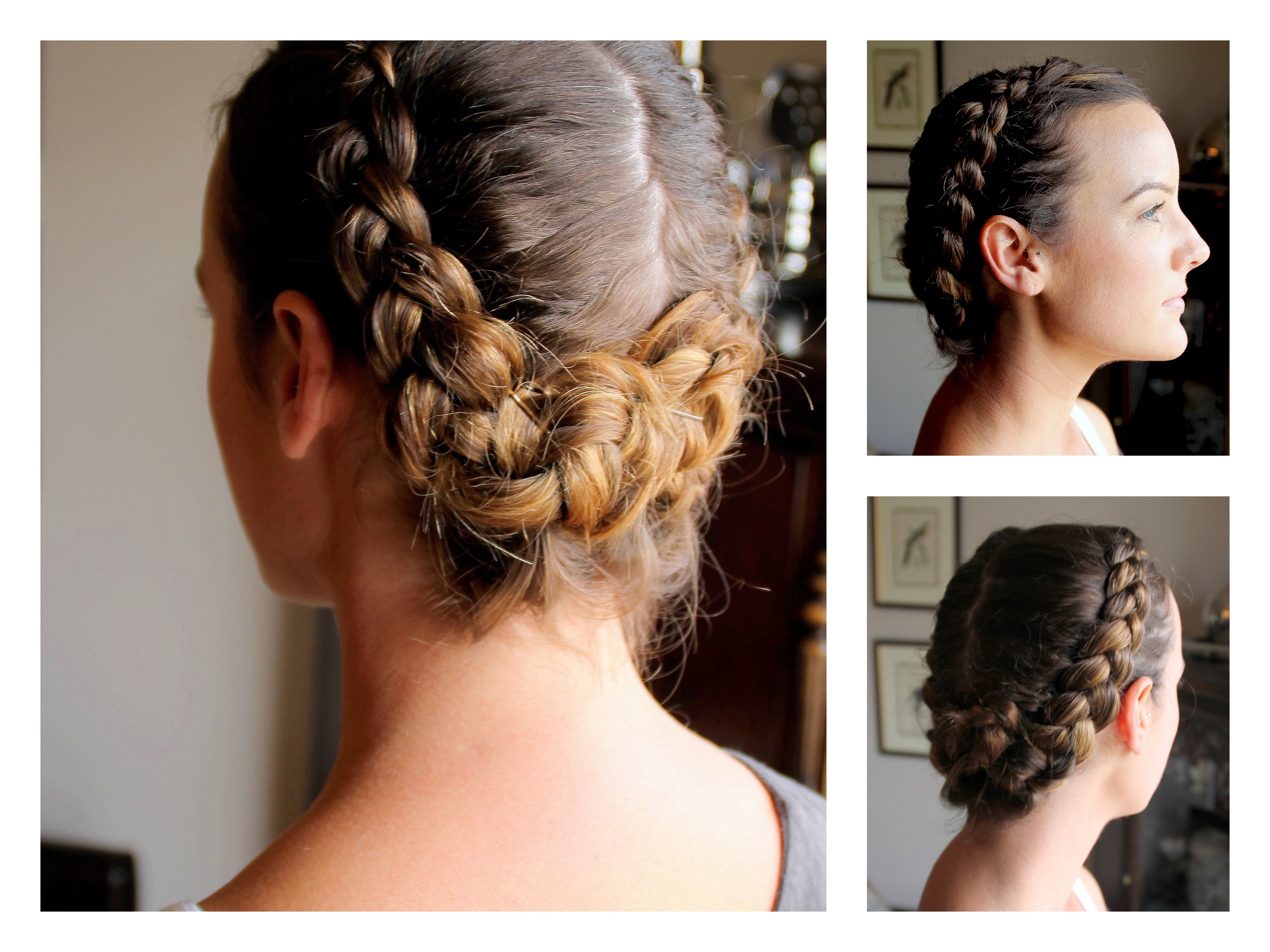 Peachy How To French Braid Short Hair Borbotta Com Hairstyle Inspiration Daily Dogsangcom