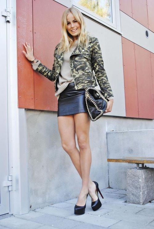 Stocking Miniskirt 57