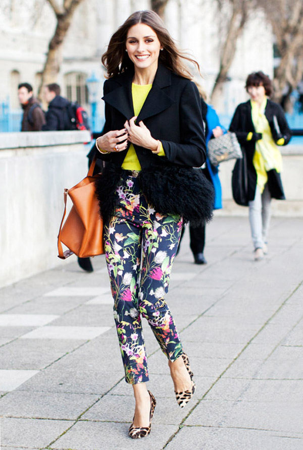 Flower Printed Pants Print Pants Fashion Tip if