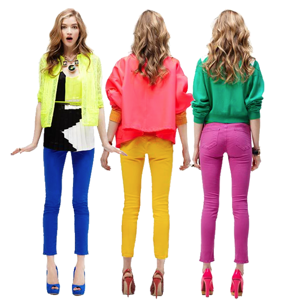 you don t need a reason to step out in neon strutting