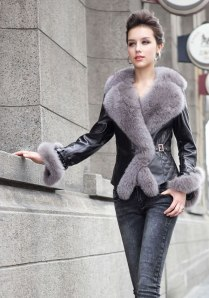 2013-Fashion-Women-s-Sheepskin-Leather-Long-Filling-Cotton-Coat-With-Fox-Fur-Collar-And-Belt-Female-Outerwear-Clothing-IM-04228799-1