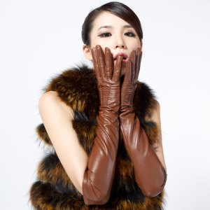 Free-shipping-High-quality-customize-classic-genuine-leather-gloves-female-sheepskin-gloves-women-s-thin-thermal