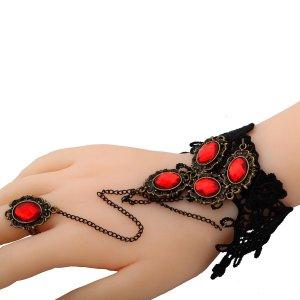 attached ring bracelet