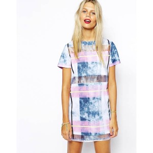 asos-t-shirt-dress-marble-check-panel