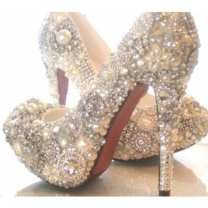 bedazzled shoes