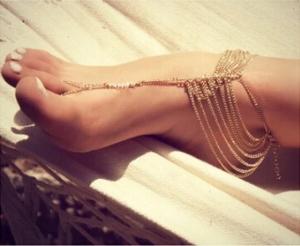 Chunky-Women-Summer-Multilayer-Barefoot-Sandals-font-b-Slave-b-font-Anklet-font-b-Foot-b