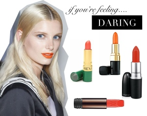 daring-orange-lipstick