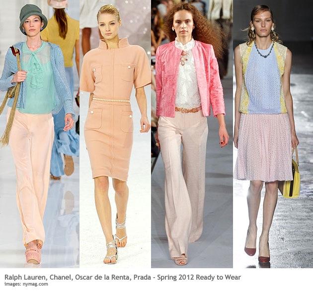 Pastel Colors Fashion Trend