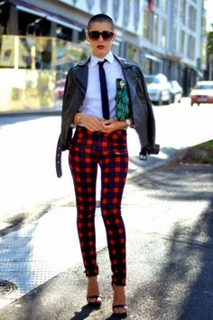 MAD FOR PLAID! | STRUTTING IN STYLE! NANCY MANGANO'S FASHION/STYLE ...