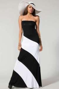 black-strapless-maxi-dress