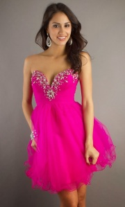 Latest Pink Prom Dresses For Girls
