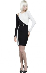 Tia-Mowry-Black-White-Alice-Olivia-Josefina-Shoulder-Cut-Out-Dress1