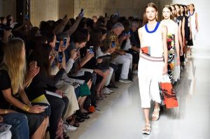 A-model-walks-the-runway-at-the-Victoria-Beckham-Spring-Summer-2016-fashion-show