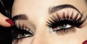 Beautiful eyelashes