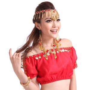belly-shirts-crop-cropped-women-Belly-dance-clothes-indian-dance-belly-dance-training-top-short-sleeve