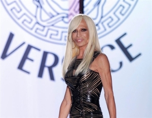 Donatella Versace by Versace Fashion Show