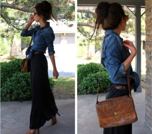 embedded_denim_shirt_with_maxi_skirt