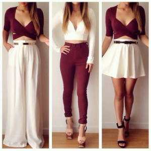 qacr4t-l-c335x335-t+shirt-belt-burgundy+crop-ipadiphonecase+com-jumpsuit-skirt-burgundy-jeans-white+skirt-white+crop+tops-wine-high+waisted+skinny+jean