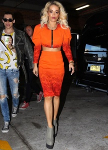rita-ora-sydney-mark-fast-spring-2012-cropped-bomber-jacket-pencil-skirt-senso-zeno-platform-wedge-boots-1
