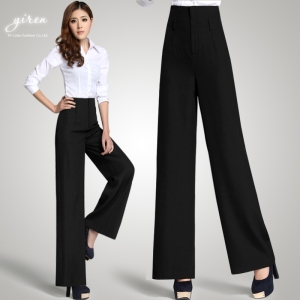 2013-OL-wide-leg-pants-wide-leg-pants-outfit-fashion-elegant-high-waist-wide-leg-pants