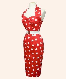 50s-red-pencil-halterneck-dress