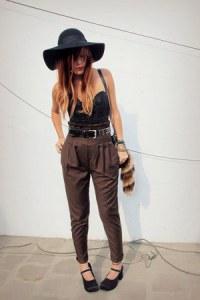 black-forever-21-hat-black-vintage-top-brown-wwwiwearsincom-iwearsin-pants