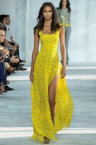 new-arrival-runway-dresses-yellow-chiffon
