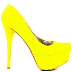 stunning-Yellow-high-heels