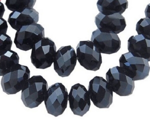 300PCS-Hot-Fashion-Jewelry-Charm-Faceted-Crystal-Glass-Beads-Black-Small-Hole-Finding-Jewelry-Accessories-8MM