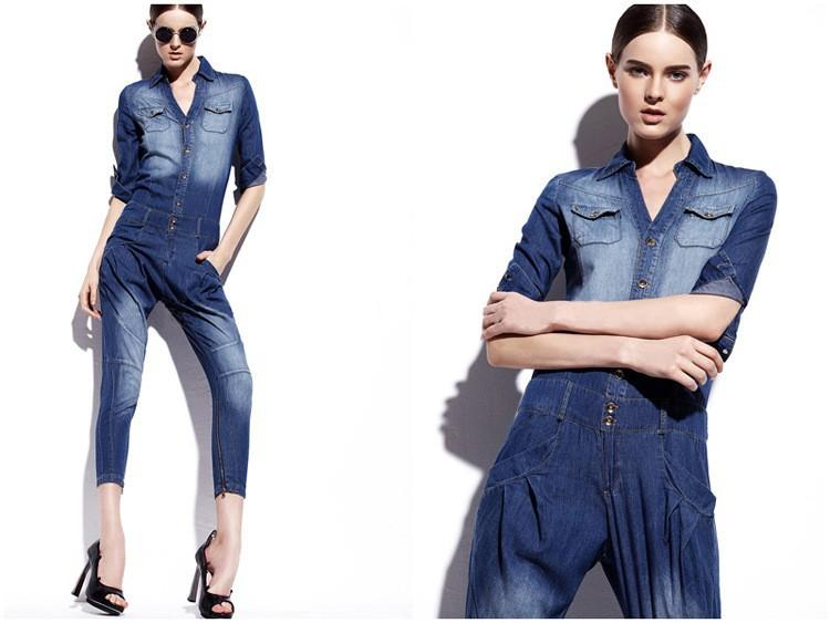 Collection Womens Blue Jean Jumpsuits Pictures - Fashion Trends ...