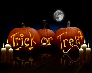 stock-footage-this-cg-rendering-is-of-a-traditional-jack-o-lantern-carved-pumpkins-with-the-words-trick-or-treat