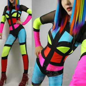 2014-new-tiems-Ds-costume-font-b-neon-b-font-patchwork-jumpsuit-fashion-multicolour-space-women