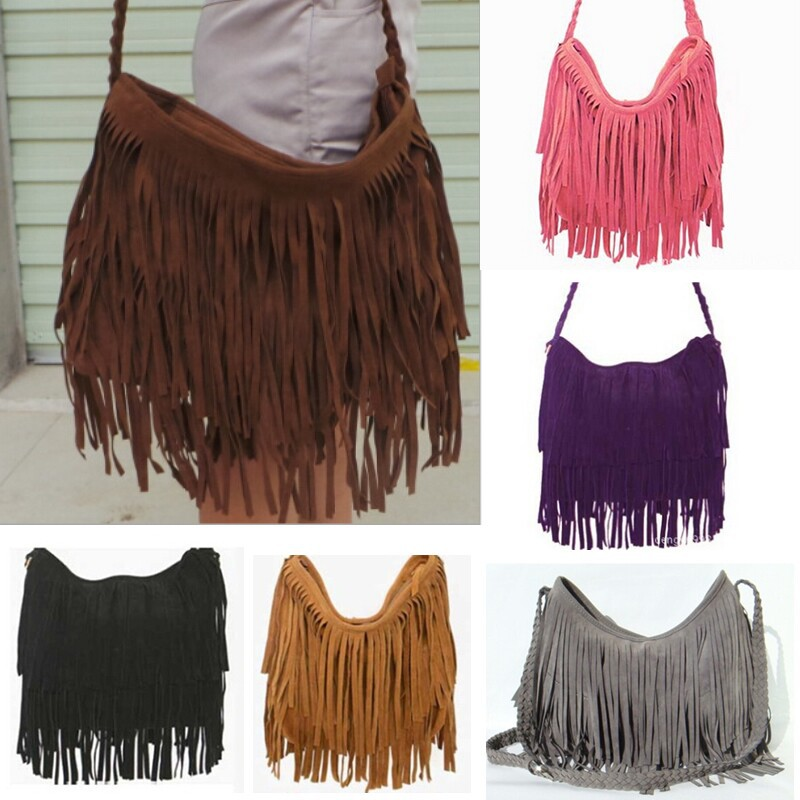 2015-New-Fashion-Girl-Faux-Suede-font-b-Fringe-b-font-Tassel-Bag-Handbag-Hobo-Cluth