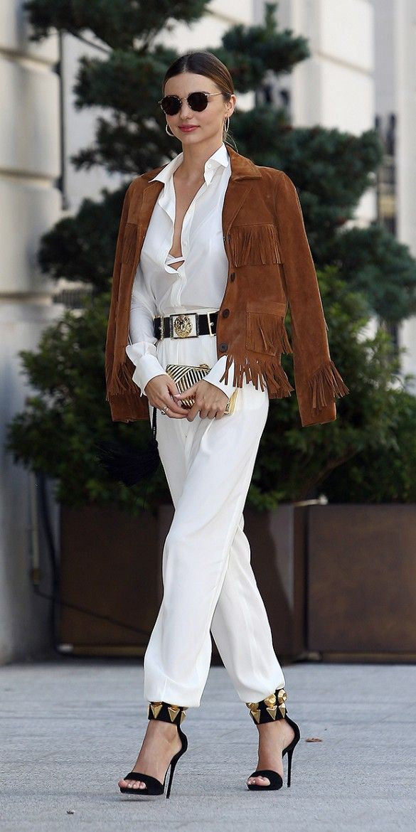 brown-suede-fringe-jacket | STRUTTING IN STYLE! NANCY MANGANO'S ...
