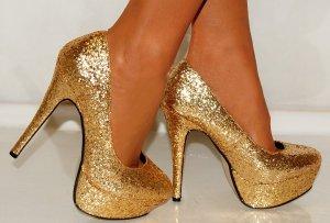 Gold-High-Heels
