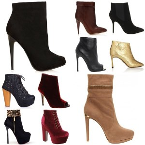 High-Heeled-Ankle-Boots-Fashion