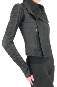 rick-owens-black-corduroy-biker-blistered-leather-jacket-2