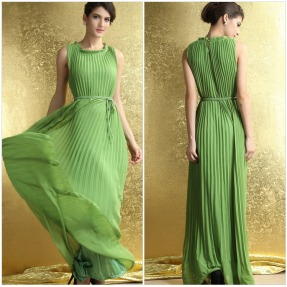 2015-New-Fashion-Summer-Spring-Women-s-Long-Boho-Green-Dress-To-The-Floor-Women-Clothing