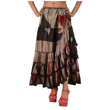 548-Skirts-N-Scarves-Gypsy-Boho-Frill-Maxi-Indian-Umbrella-Silk-Skirt-for-Women-1