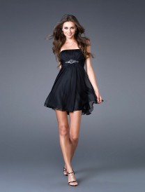 Gentle-Strapless-Empire-Beading-Chiffon-Black