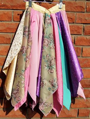 scarf skirt - 3