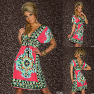 New-Arrival--2015-Fashion-Retro-1960s-1970s-Vintage-Paisley-Print-V-Neck-Hippie-Bohemian-Summer
