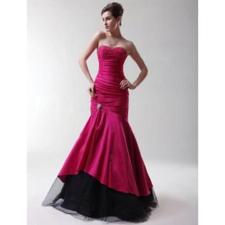 Trumpet_Mermaid_Strapless_Sweep_Brush_Taffeta_Prom_Evening_Dress